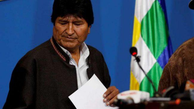 Se consumó el golpe en Bolivia: renunció Evo Morales