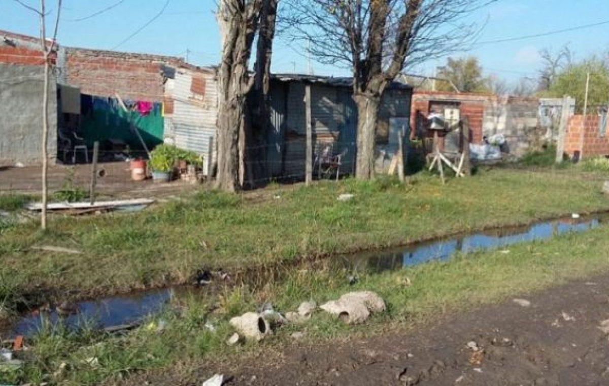 La pobreza detectada en Casilda está por encima de la media nacional