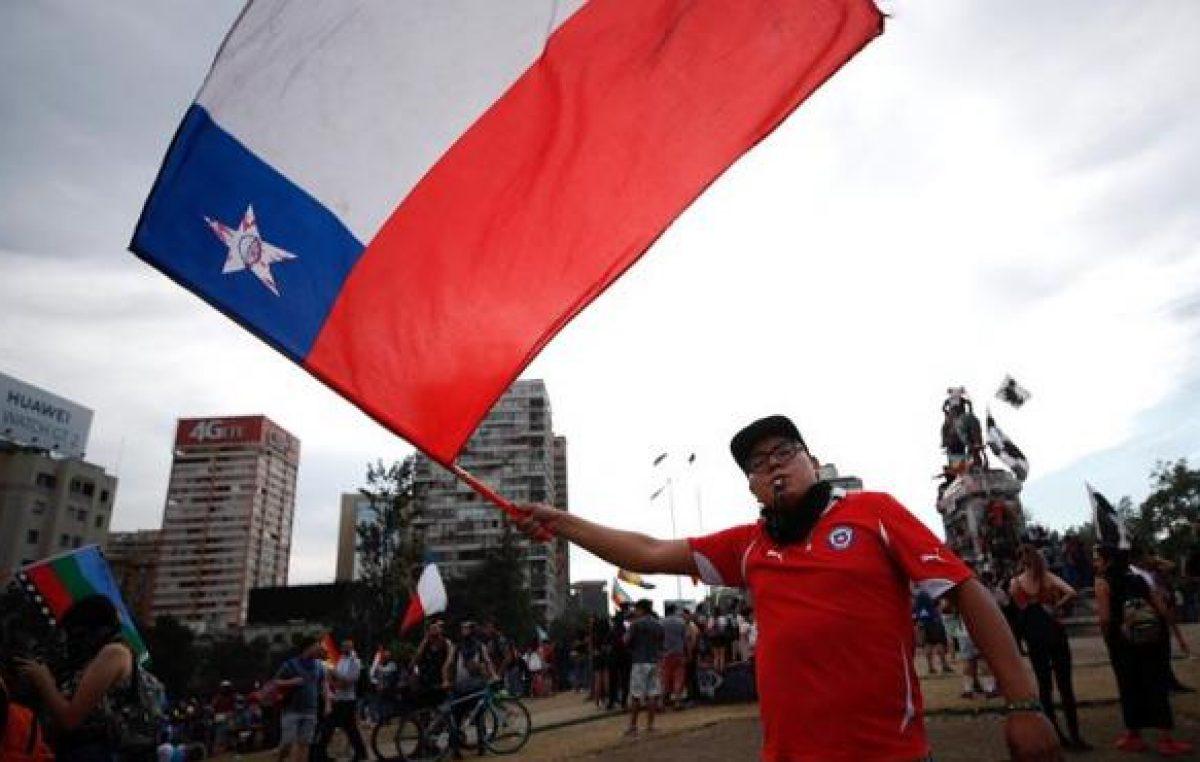 La sexta semana de marchas en Chile se inicia con protestas y llamado a un paro nacional