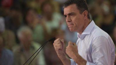 La jugada de Sánchez se complicó en España