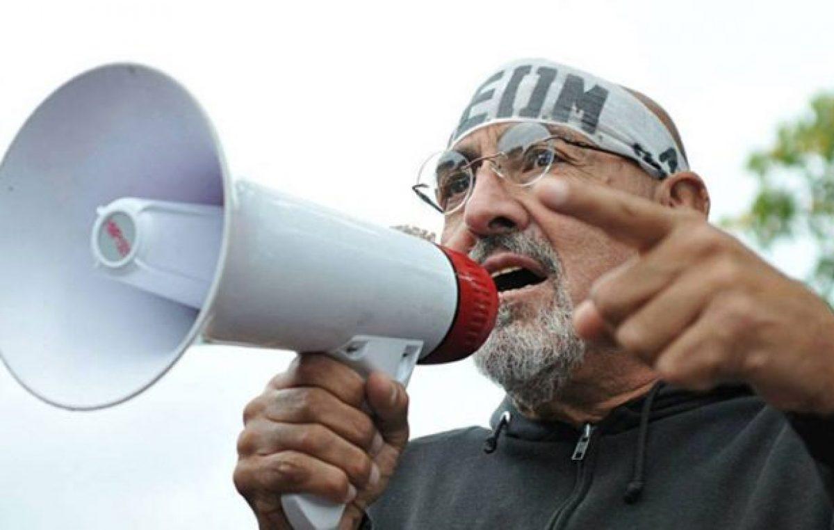 Jujuy: Santillán advierte «si el gobierno no hace nada por el pueblo iremos a las rutas»