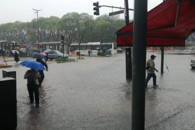 Llovió y se volvió a inundar