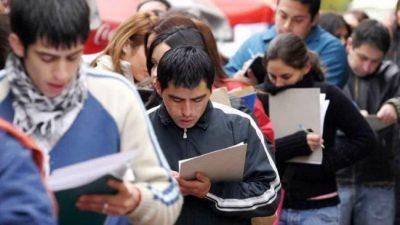 El desempleo en Neuquén afecta a los más jóvenes