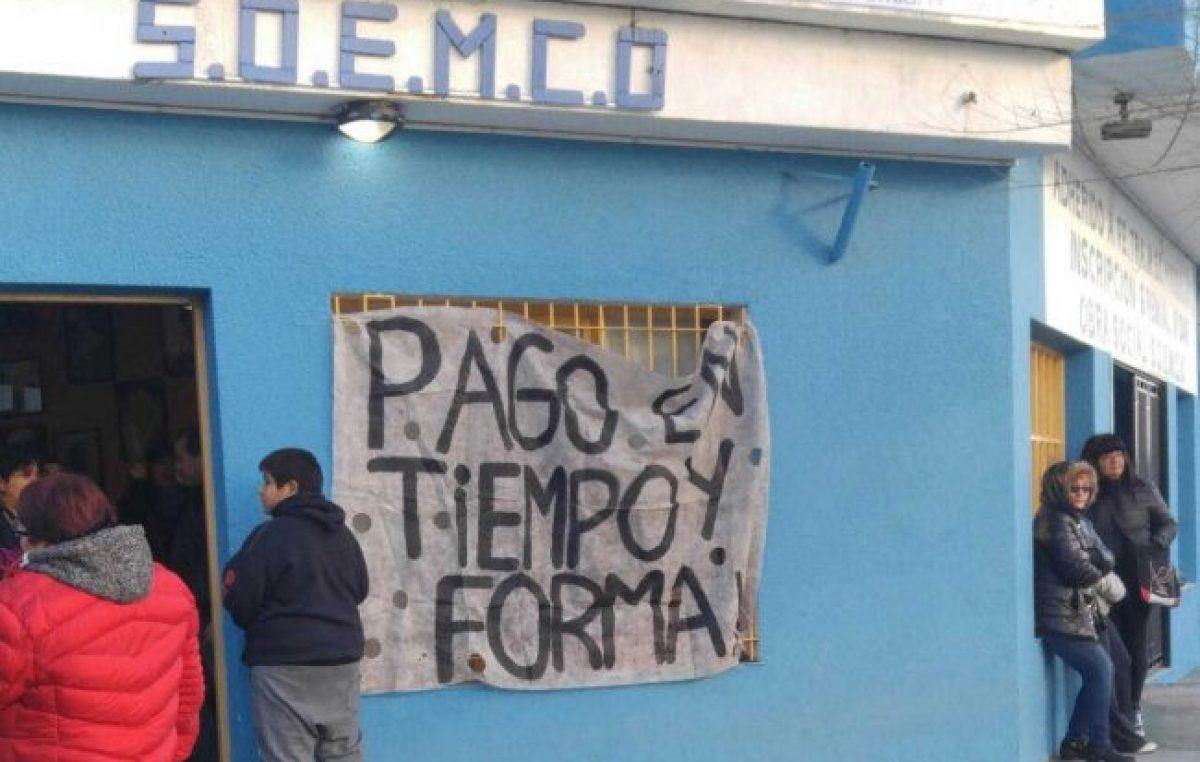 Caleta Olivia: El SOEMCO continuará con la huelga la semana que viene