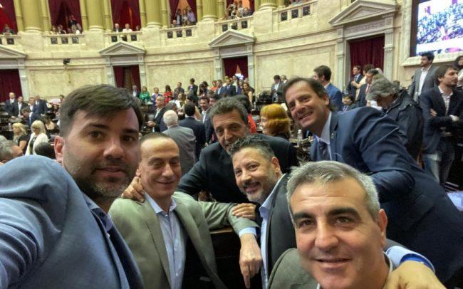 Con el apoyo de los intendentes, Massa asumió la presidencia de la Cámara de Diputados