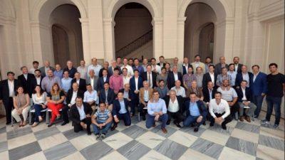 Kicillof recibió a los intendentes peronistas: «Vamos a estar al lado de ustedes en el territorio»