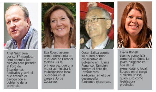 Nuevos mandatos en Córdoba: muchos reelectos y récord histórico de mujeres intendentas