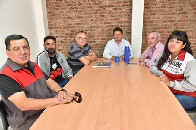 Gaido organizó los pases a planta en el Municipio de Neuquén