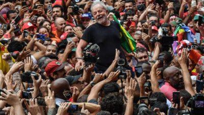 Reencuentro con Lula libre