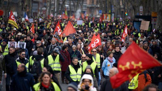 El terremoto social llega a Francia