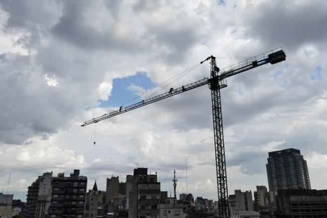 El año en que se cayó la construcción