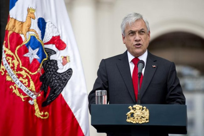 Piñera envió millones a paraísos fiscales