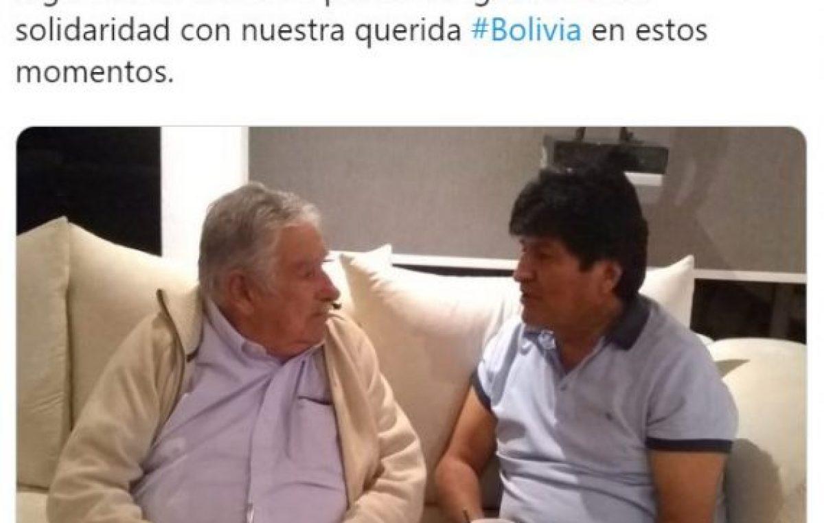 Pepe Mujica se reunió con Evo Morales