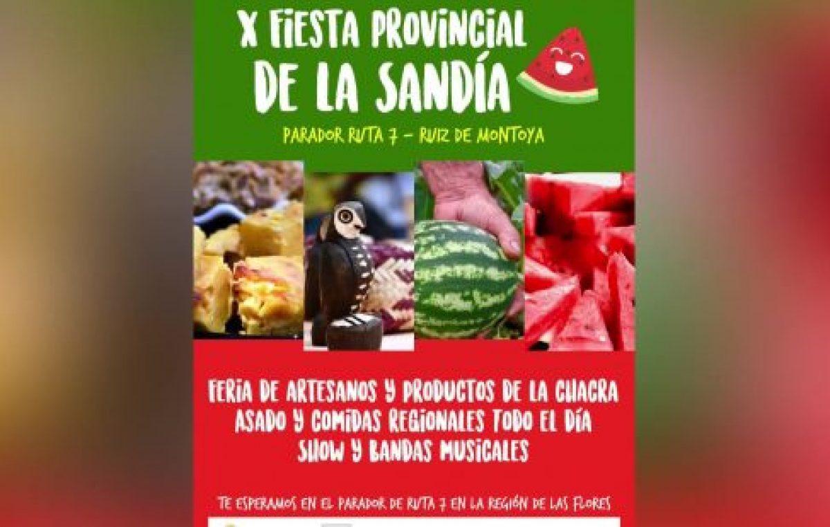 Ruiz de Montoya, Misiones celebra la Fiesta Provincial de la Sandía
