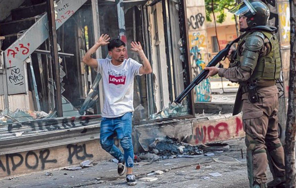 La economía chilena se contrae por efecto de la ola de protestas