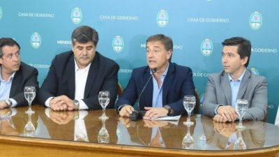 Congelan por 180 días los sueldos de funcionarios en Mendoza