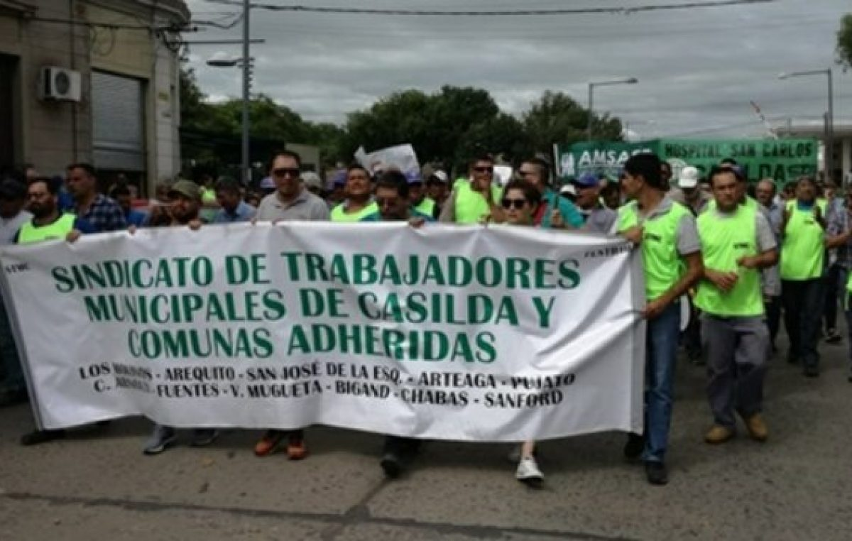 Casilda: cortarán la ruta si no pagan los sueldos a los municipales