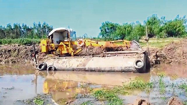 Victoria: Frenan dos obras de canalización en las islas que no tenían autorización