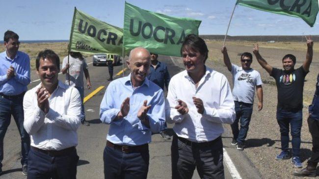 Tres intendentes apuntalaron pedido a Nación para la reanudación de las obras de la Autovía enla Ruta Nacional N° 3