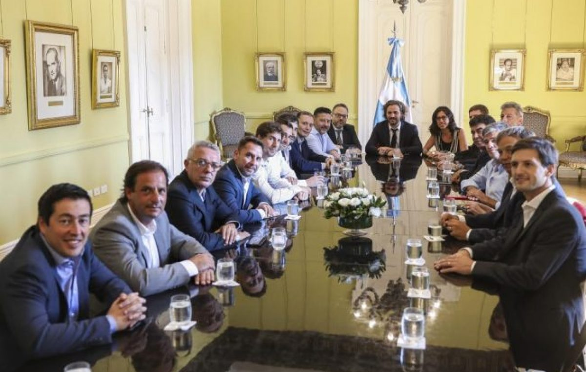 Santiago Cafiero con los intendentes para controlar el programa Precios Cuidados
