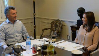 Vidal fue la gobernadora más beneficiada por los fondos del Tesoro Nacional durante la presidencia de Macri