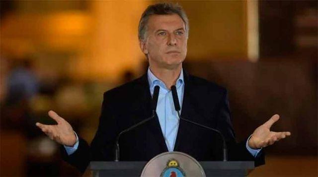 """Macri: """"Yo siempre decía, cuidado con los mercados, no te dan más plata y nos vamos a la mierda"""""""
