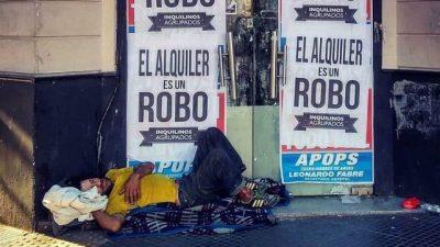 Organizaciones sociales reclaman la emergencia habitacional en la Ciudad de Buenos Aires