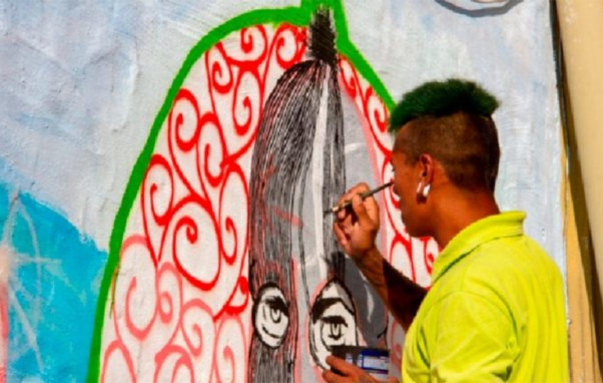 Arte callejero en Río Cuarto: cuando las paredes se pintan, el pueblo deja su huella