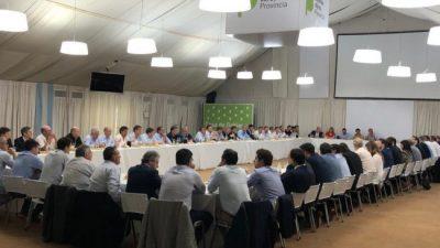Kicillof recibió a los intendentes de Juntos por el Cambio y anticipó cambios en la Ley Impositiva