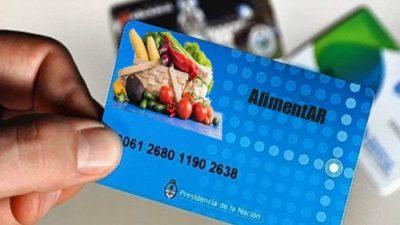 Córdoba recibirá 116 mil tarjetas alimentarias de la Nación