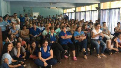Municipales de Casilda: paro por tiempo indeterminado y corte de ruta