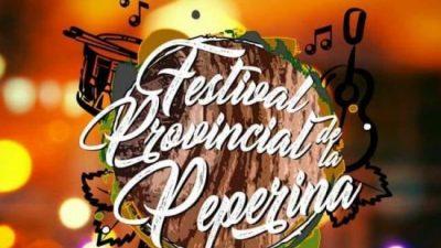 La tradicional hierba aromática, tendrá su Festival Provincial de la Peperina