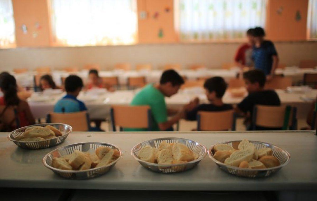 Los comedores escolares santafesinos ya tienen los fondos para las partidas