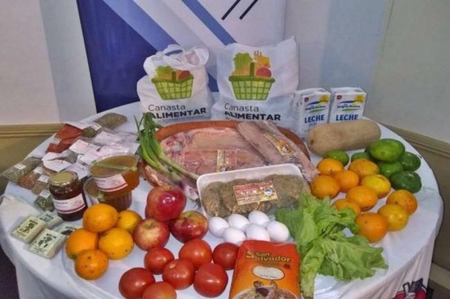 Feria de alimentos en Concordia