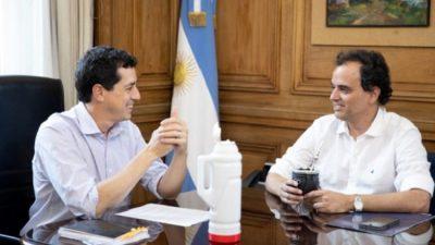 La Nación prometió reactivar las obras y revalorizar a Río Cuarto