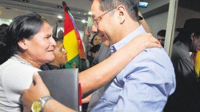 Bolivia: Luis Arce, «Somos inclusivos de la cultura de la wiphala, hay espacio para todos»