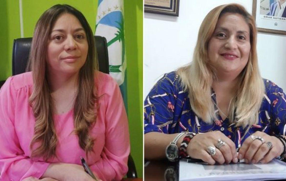 Dos mujeres intendentas escriben la historia del interior neuquino