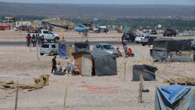 Ocupantes de la toma en Neuquén piden la intervención de Nación