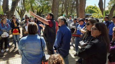 Centenario: sin Bertoldi, nadie negocia con los municipales