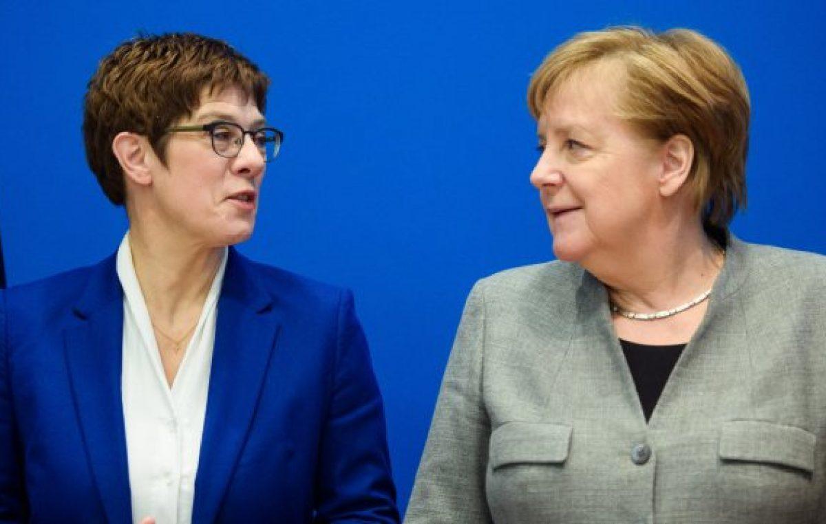 Crisis política en Alemania: Merkel se queda sin heredera política