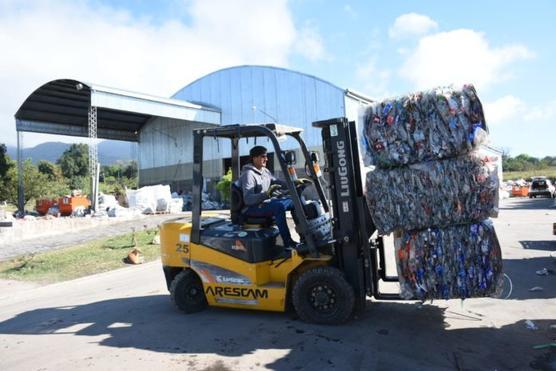 Tafí Viejo ya vendió 743 toneladas de material reciclable