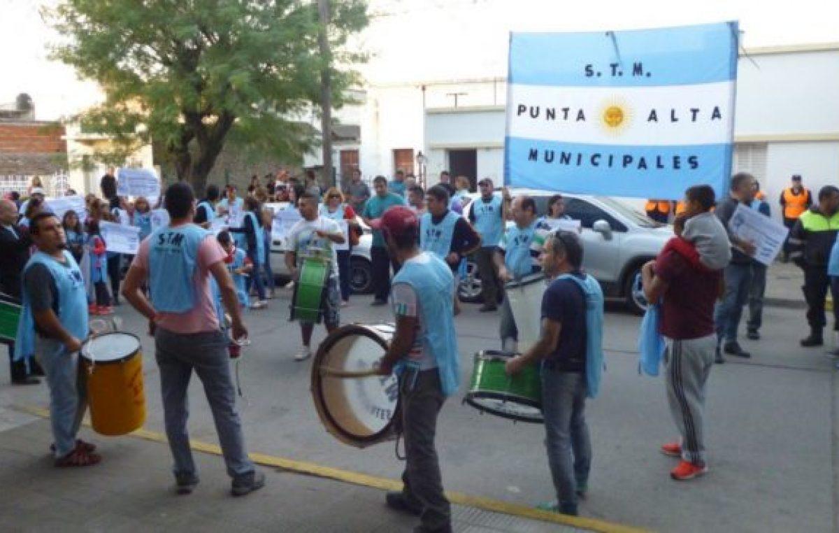 Nuevo paro de los trabajadores municipales de Punta Alta