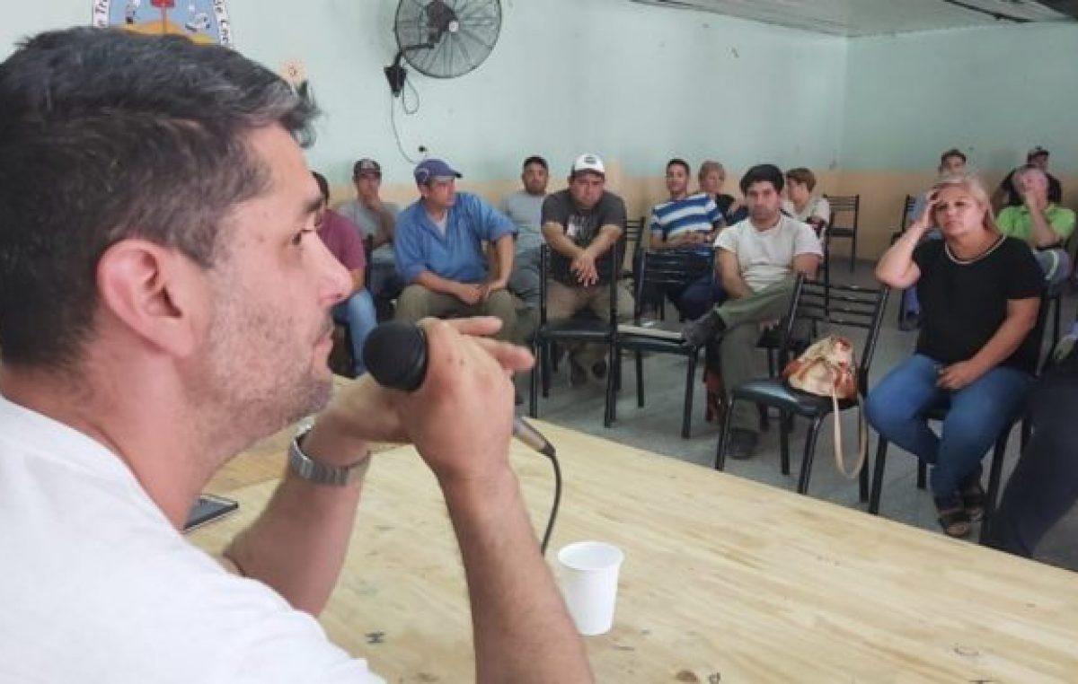 Se levantó el paro de los municipales en Punta Alta