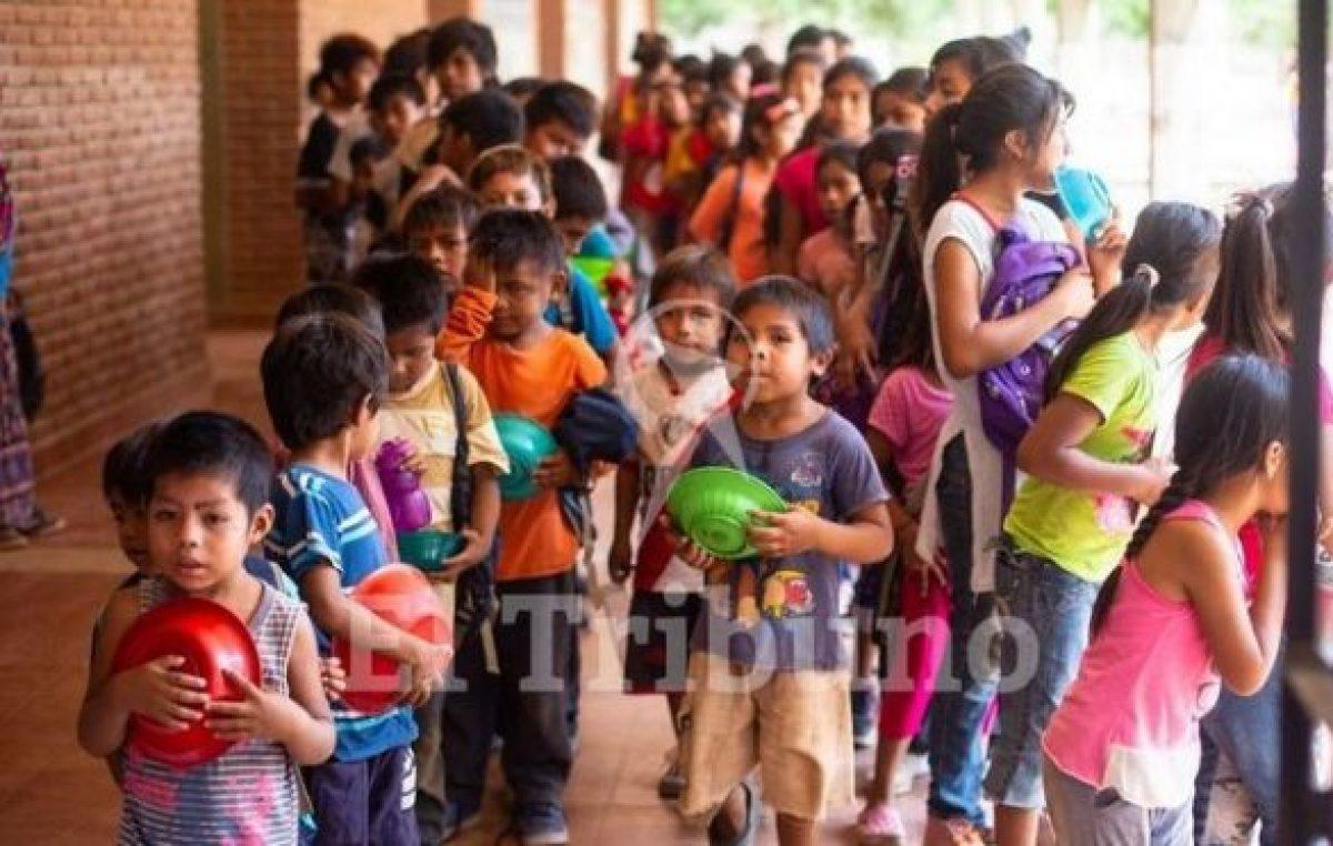 Aumentarán 60% la ayuda para comedores de escuelas del norte salteño