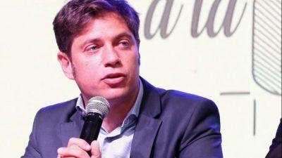 Kicillof corrió a Jorge Macri de la presidencia del Grupo Provincia y nombró a cuatro directores propios