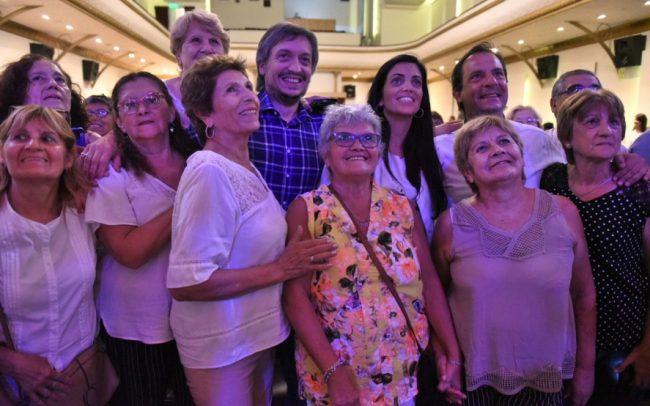 Máximo Kirchner encabezó un acto en Escobar y acusó al FMI de financiar la campaña de Macri