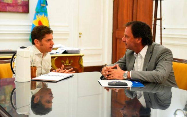 Gesto para los intendentes: Kicillof nombró como gerente de AUBASA a un funcionario de Sujarchuk