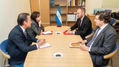 El FMI calificó como «muy productiva» la reunión con Martín Guzmán en Washington