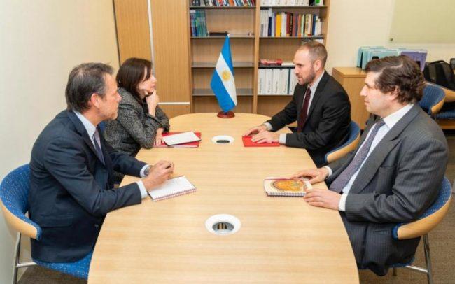 """El FMI calificó como """"muy productiva"""" la reunión con Martín Guzmán en Washington"""
