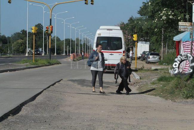 Ruta N° 1 Santa Fe: paralización, despidos y problemas de movilidad para vecinos